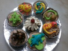 Insect Cupcakes - Creepy Crawly and Delicious.