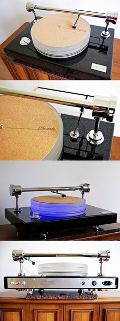 Airbearing turntable (tangential model with grate quality of sound) made by pre-audio.com