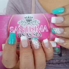 Nail Spa, Pedicure, Nail Designs, Floral, Beauty, Margarita, Community, Light Nails, Nail Jewels
