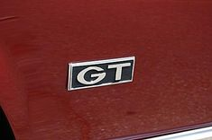 1968 Ford Mustang Photo Gallery: 1968 Ford Mustang GT Emblem