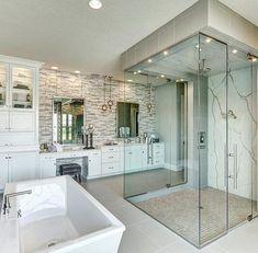 Master Walk-In Shower with overhead shower head Remodel done by @buildincommon #InteriorDesign #DecorativeHardware #HomeDecor #DIY #Remodel #mastershower #Architecture #showergoals #LuxuryHomes #Kitchen #HomeIdeas #HomeStyling #HomeRenovation #HomeDesign #HomeInspiration #DreamHome #ArchiLovers #BathroomDesign #BathroomRemodel #NewShower #ModernHome #NewConstruction