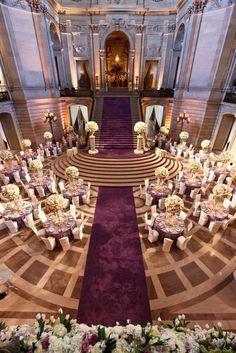Glamorous Purple Wedding Ideas - MODwedding