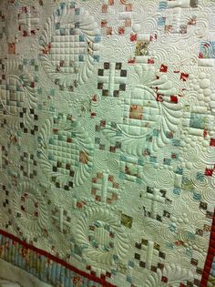 Hands on Longarm classes at Island Quilter on Vashon Island and a little eye candy!
