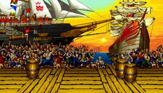 Do you remember this one? // Wicked Fighting Game Background GIFs