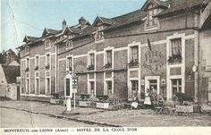 Hôtel de La Croix d'Or, à Montreuil-aux-Lions dans l'Aisne. http://www.geneanet.org/search/collection