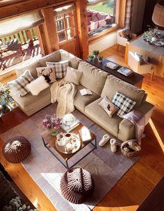 Una cabaña de madera reformada · ElMueble.com · Casas