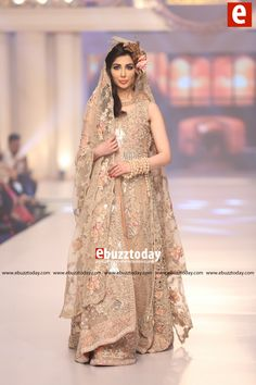 GOAL BY FOZIA HAMMAD – An Ode to Colors collection at Telenor Bridal Couture Week 2015 (#TBCW2015)
