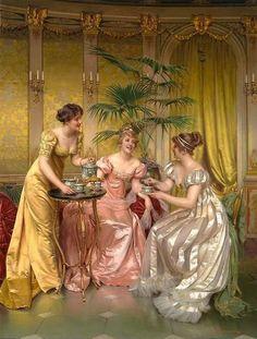 Dames op de thee!