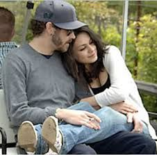 Danny Masterson and Mila Kunis