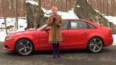 Throwback Thursday: Emme Hall enjoys the 2011 #Audi #A4 #TBT
