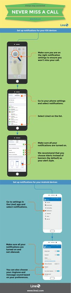 How to make sure you never miss a call with Line2 Always stay connected.  #Line2Tips