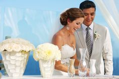 Cancun Beach Palace Sky Terrace Ceremony: At wedding Romantique, we will be glad to help you create you uniquely Customized Destination Weddings. We work with most resorts and can create Stylish Destinations Wedding full of color, texture that makes a statement! We will take care of your destination wedding services from sourcing the right vendors, creating a stylish event that reflect your personality and budget to all the legal requirements for getting married on away from home