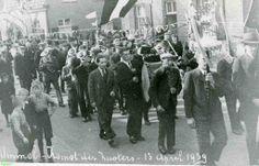 0213659 Coll. Chr. Warnar 1939: Aankomst zusters in Ommel.
