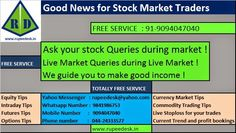 FREE STOCKS AND NIFTY TIPS - RUPEEDESK: New Service : Ask your Queries - FREE SERVICE