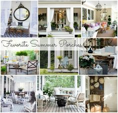Favorite Summer Porches