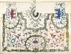 Claude III Audran, Projet de plafond