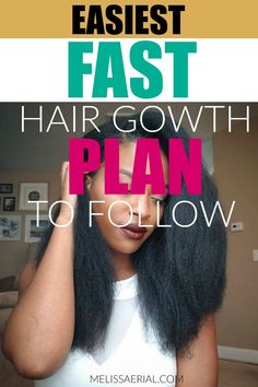 Follow our fast hair growth plan to grow you hair to its full potential. #hairgrowth Natural Hair Growth Remedies, Natural Hair Growth Tips, Natural Hair Treatments, Afro Hair Care, Hair Care Oil, Blonde Hair Care, Hair Care Recipes, Essential Oils For Hair, Healthy Hair Tips