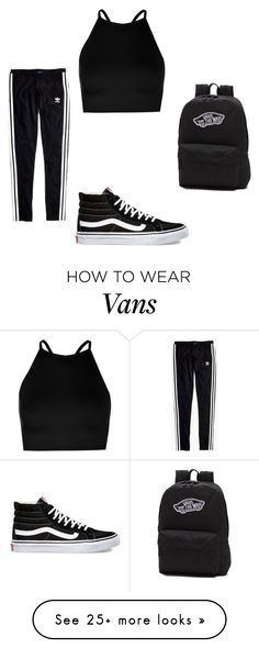 """esto fue hecho por mi mama"" by queenb-676 on Polyvore featuring Madewell, Boohoo and Vans"