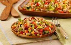 Must-try Chopped Salad recipe with tuna and cucumber! | StarKist
