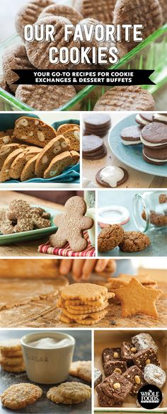 Go-To Recipes for Cookie Exchanges and Dessert Buffets