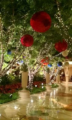 At Wynn Las Vegas, experience Forbes Travel Guide Five-Star luxury from the highest rated resort company in the world. Wynn Las Vegas, Vegas Casino, Las Vegas Nevada, Party On Garth, Vegas Tattoo, Casino Hotel, Hanging Flowers, I Love La, Christmas Decorations