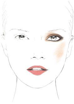 Golden Extravaganza - Facechart par Karim Rahman