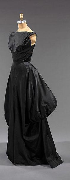 Charles James - Couturier - Robe de Soirée - Soie - 1948