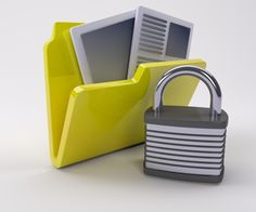 Folder with documents and a padlock | Free Photo #Freepik #freephoto #business #computer #paper #office Computer Paper, Free Photos, Personalized Items, Business, Store, Business Illustration