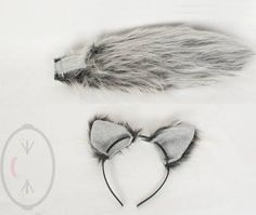 fluffy silver cat tail - Google Search