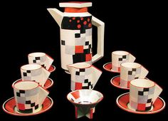Clarice Cliff's bizarre design revolutionised the ceramics industry and informed the design of homewares for many years