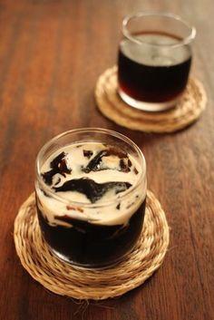 レシピ#473 豆から挽いたコーヒーゼリー : 続*ジャスミンの料理手帖