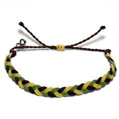 Beat Ebola geflochten - Weltfreund Armbänder Band, Charity, Bracelets, Jewelry, Make A Donation, Braid, Bangles, Jewlery, Jewels