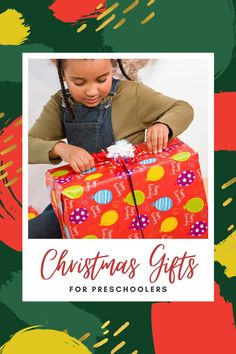Gifts for preschoolers that will build early literacy skills too. Recommendations from a reading specialist. #preschool #giftsforkids #GrowingBookbyBook