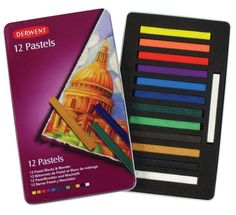 Shop Derwent Pastels, L x at Artsy Sister. Pastel Pencils, Coloured Pencils, Face Painting Supplies, Art Supplies, Art Shed, Art And Craft Materials, Drawing Letters, Drawing Projects, Blenders