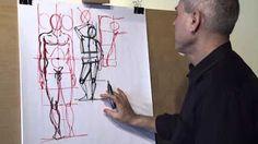 Dessin Lesson 2 Portrait French - YouTube