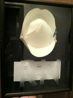 I framed my nursing cap