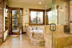 Rustic Master Bathroom - Found on Zillow Digs