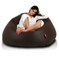 Relax XL babzsákfotel - sötétbarna Office Interior Design, Bean Bag Chair, Relax, Bags, Environment, Handbags, Beanbag Chair, Bag, Office Decor