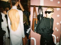 Get an exclusive look backstage at Wanda Nylon SS16, first show during Paris Fashion Week. Photographed by Nicolas Kuttler for CRASH.FR