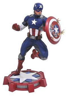 d5fc5eb2ba5 DIAMOND SELECT TOYS Marvel Gallery  Marvel Now! Captain America PVC Vinyl  Figure Marvel Now