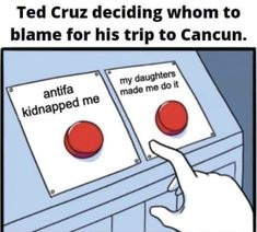 ted cruz cancun blame Introvert Problems, All The Things Meme, Youtube Stars, Coincidences, Cat Life, How To Be Outgoing, Funny Cats, Haha, Funny Memes
