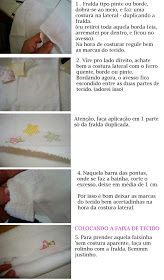 Pap de barrado de tecido para fralda que achei no blog Flor de Prenda,   da uma passadinha lá pra ver quanta coisa interessante tem lá !!! ...