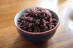 Korean Black Rice :: Heuk Mi Ssal (흑미쌀) | eat your bap ~ I love the taste of this rice over white rice.