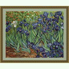 Ирисы, по картине Ван Гога B444