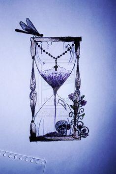 hourglass tattoo - Google Search
