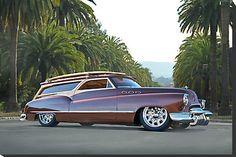 1952 buick woody station wagon   1950 Buick Woody Wagon VI by DaveKoontz