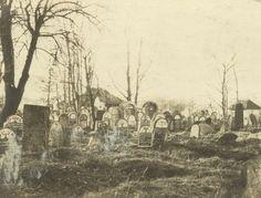 Biała Podlaska, ul. Nowa, ok. 1916 r. Kirkut (cmentarz żydowski), zniszczony przez hitlerowców podczas II wojny światowej.
