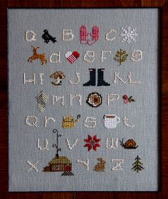 Another beautiful sampler from Alicia Paulson $30