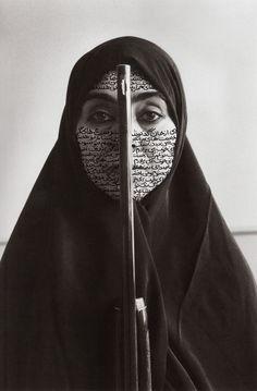"""""""I'm an artist, I'm not an activist."""" —Shirin Neshat"""