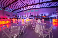 Host a stellar afterglow party or welcome reception in the Fantasy of Flight South Hangar.